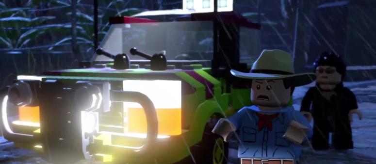 Lego Jurassic World Alan Grant and Ian Malcolm