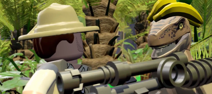 Lego Jurassic World Clever Girl