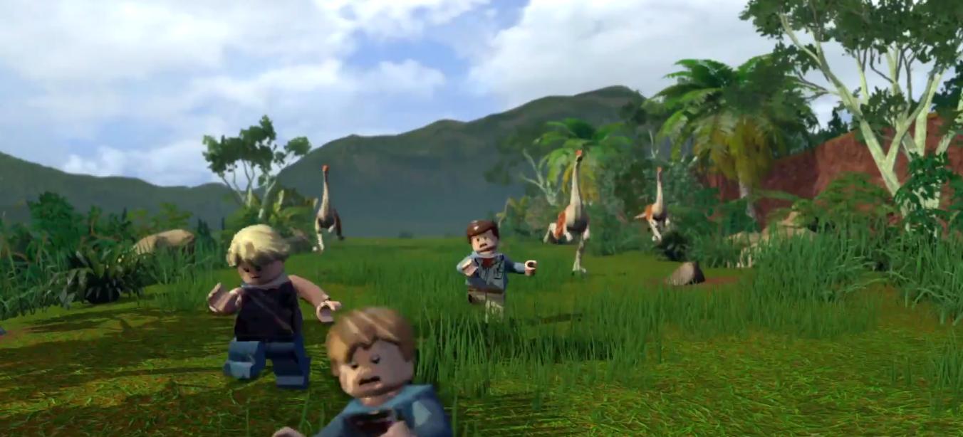 Lego Jurassic World Original Screen Grabs Breaking Geek
