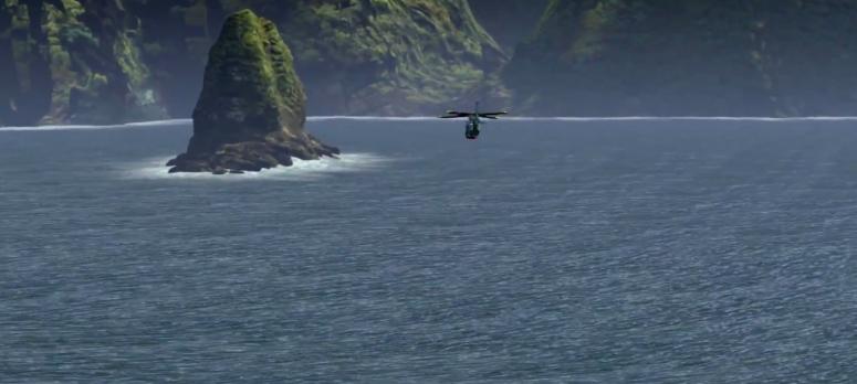 Lego Jurassic World Helicopter Journey
