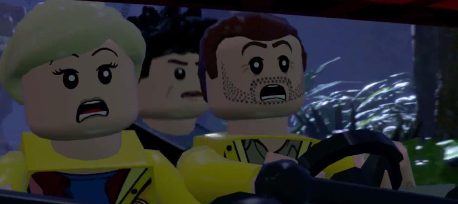 Lego Jurassic World Jeep Surprise