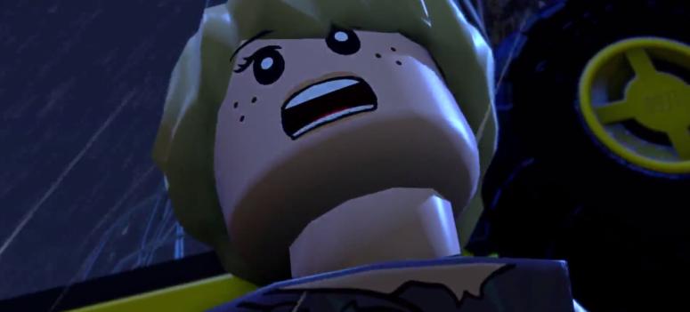 Lego Jurassic World Screaming Lex