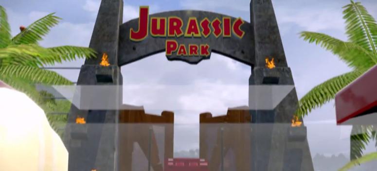 Lego Jurassic World Jurassic Park Door