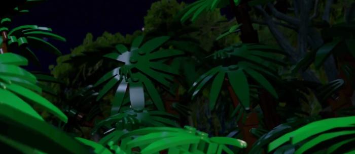 Lego Jurassic Park Trees Rustle