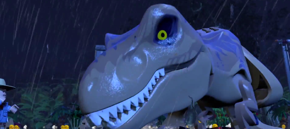 'Lego Jurassic World' Original Screen Grabs