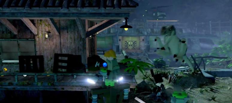 Lego Jurassic World Lost World Velociraptor