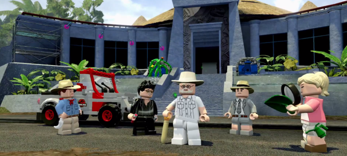 Lego Jurassic Park Visitor Center