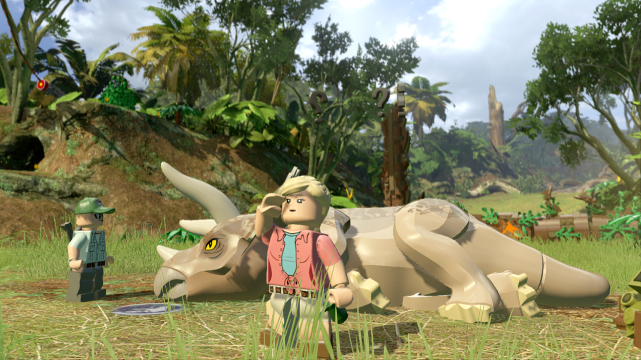 Lego jurassic world video game explores all 4 films complete with lego jurassic world sick dino gumiabroncs Images