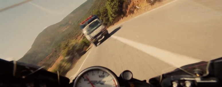 Bike Chase POV Mission: Impossible - Rogue Nation