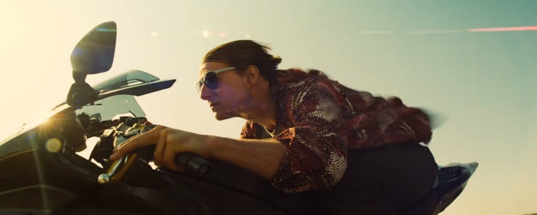 Ethan Hunt Motorcylce Mission: Impossible - Ghost Protocol