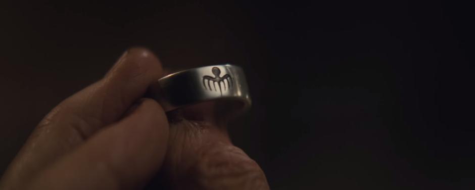 Spectre Trailer Ring Logo