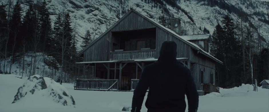 007 SPECTRE Trailer Bond Approaches Mr. White's Cabin