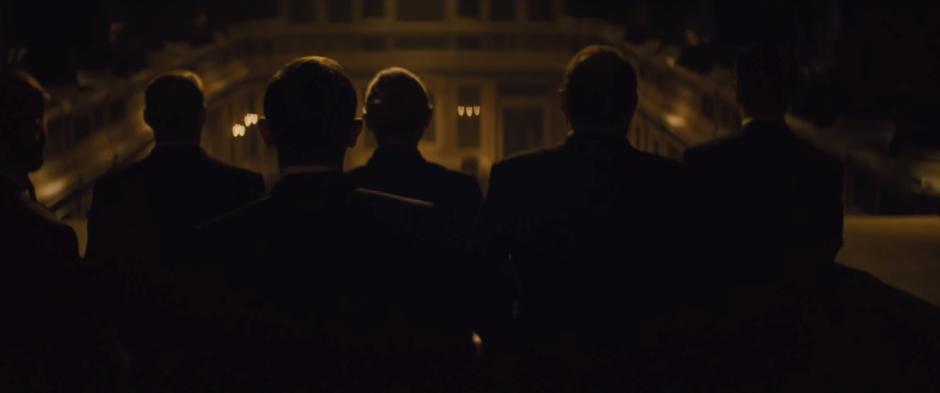 007 SPECTRE Trailer Bond at SPECTRE Meeting