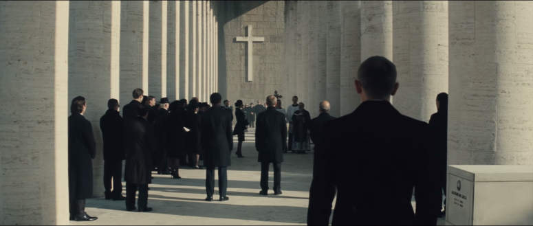007 SPECTRE Trailer Bond at the Cross