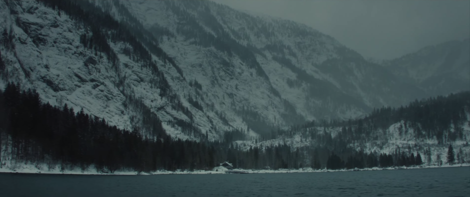 007 SPECTRE Trailer Mr. White's Cabin in the Woods
