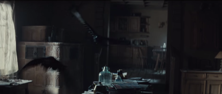 007 SPECTRE Trailer Crows In Mr. White's Cabin