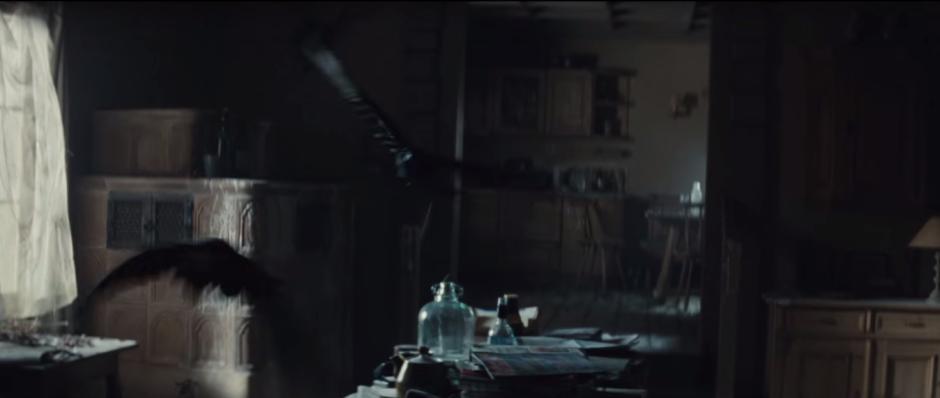 007 SPECTRE Trailer Crows In Mr. White's Cabin