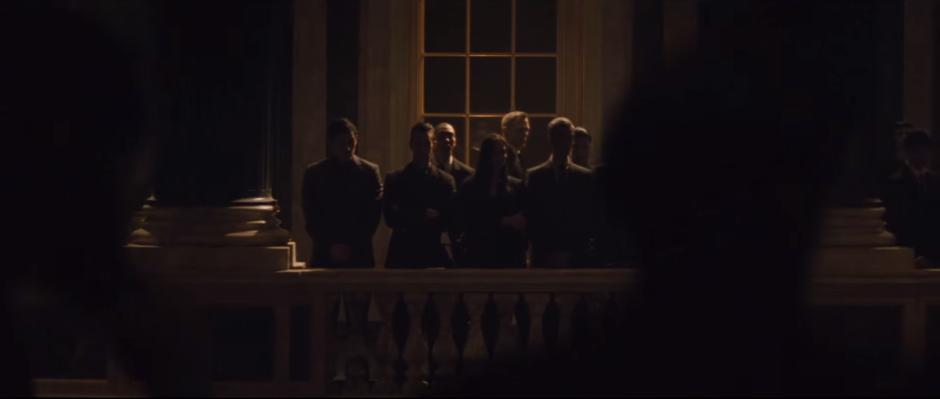 007 SPECTRE Trailer Standing Around