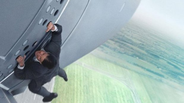 Mission: Impossible - Rogue Nation' Tom Cruise Plane Stunt