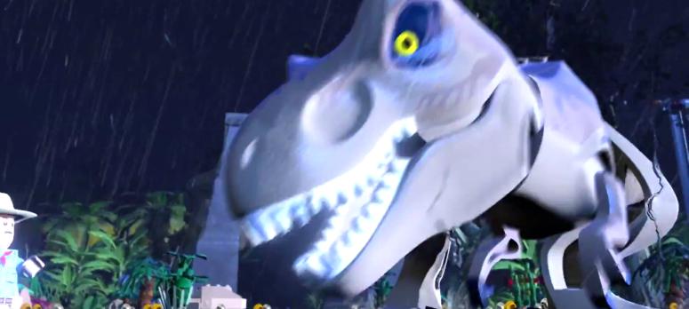 Lego Jurassic World T-Rex Lightening