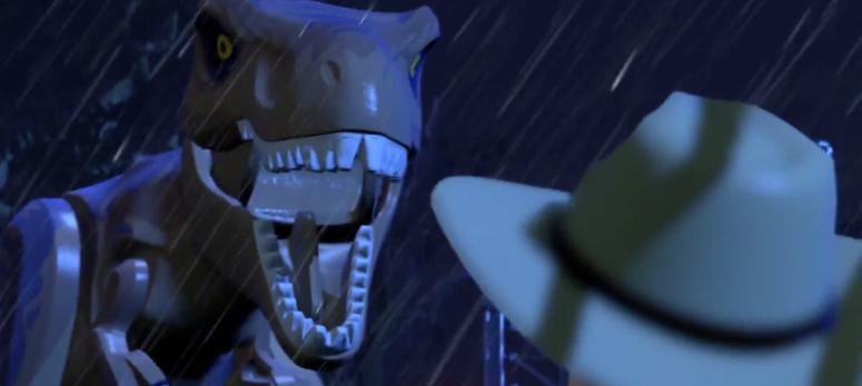 Lego Jurassic World T-Rex Roar