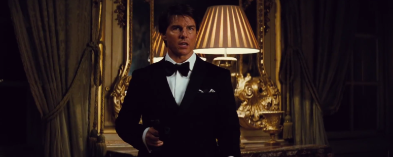 Tom Cruise Classy Ethan Hunt Mission: Impossible - Rogue Nation