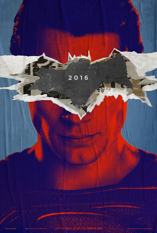 Batman V Superman Dawn of Justice Poster Man of Steel