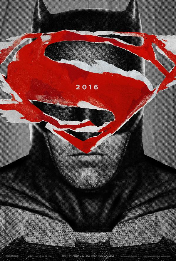 Batman V Superman Dawn of Justice Poster The Dark Knight