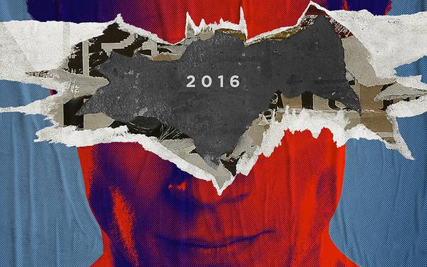 Batman V Superman Poster Tease