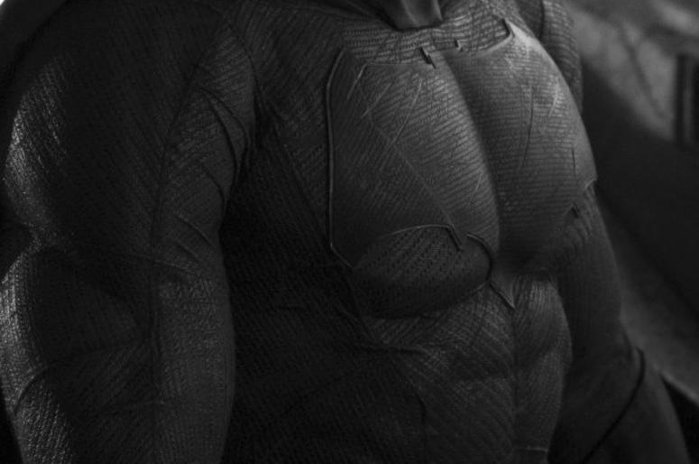 Batman Vs Superman Justice Begins Batsuit Stiched Look Chest