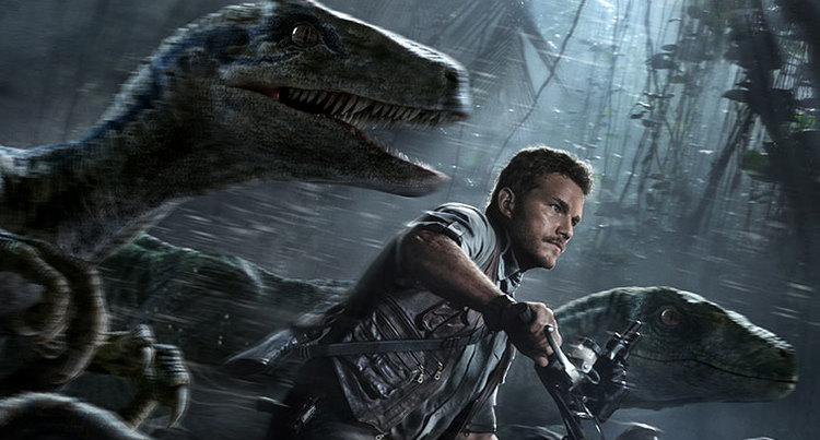 Chris Pratt Velociraptor Poster Preview