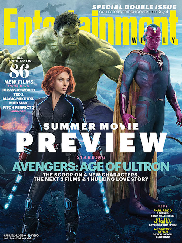 EW Vision Avengers Age of Ultron Cover
