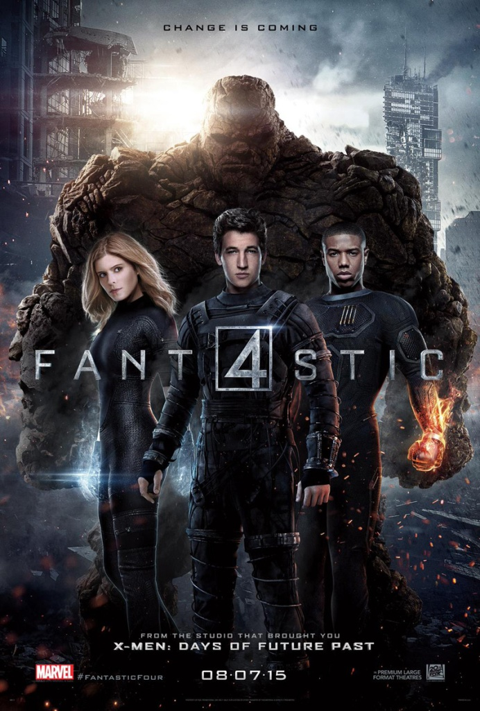 Fantastic  Four 3rd Poster 2015