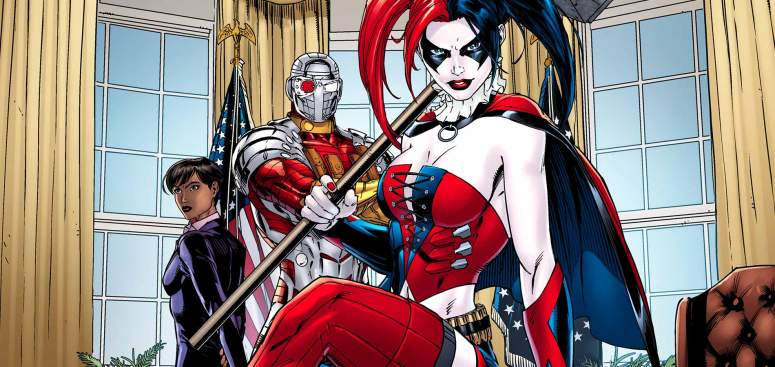 Suicide Squad Comic With Harley Quinn and Deadshot