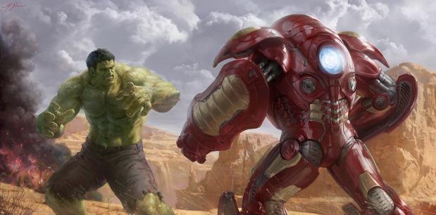Hulk vs. Hulkbuster Age of Ultron