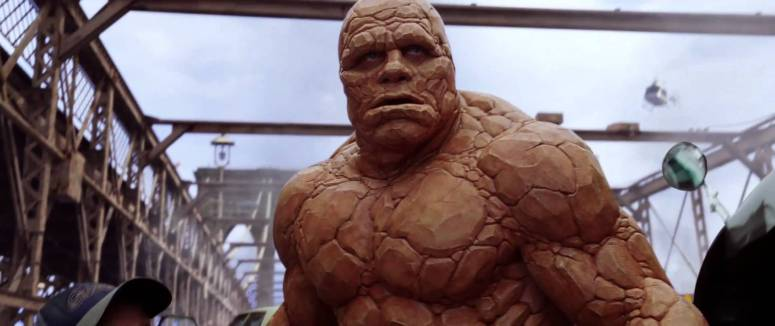 Michael Chiklis as The Thing in 2005's Fantastic Four