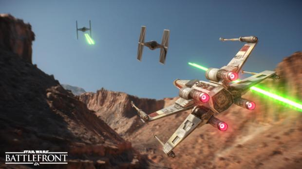 Star Wars Battlefront Official Image From EA