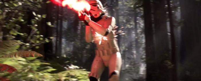Star Wars Battlefront Stormtrooper Hit