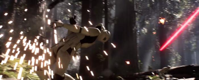 Star Wars Battlefront Stormtrooper Shot