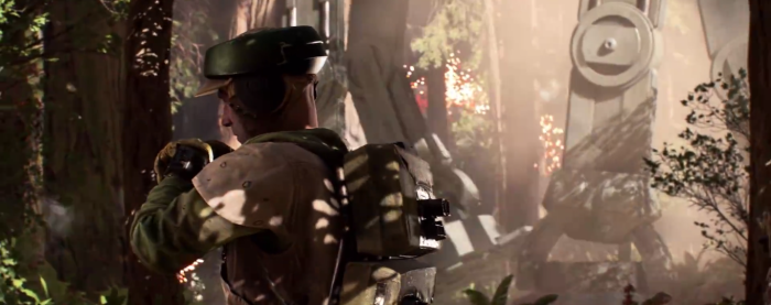 Star Wars Battlefront Trailer Calling in Air Support