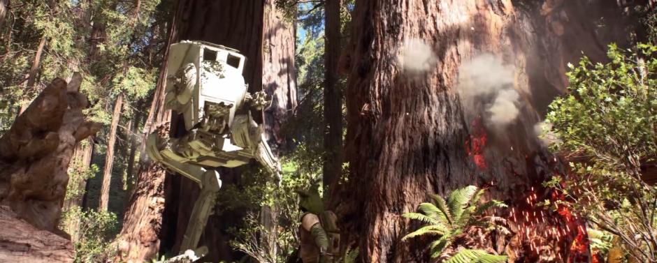 Star Wars Battlefront Trailer Chicken Walker