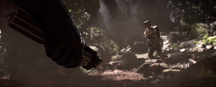 Star Wars Battlefront Trailer Darth Vader Hand Lightsaber