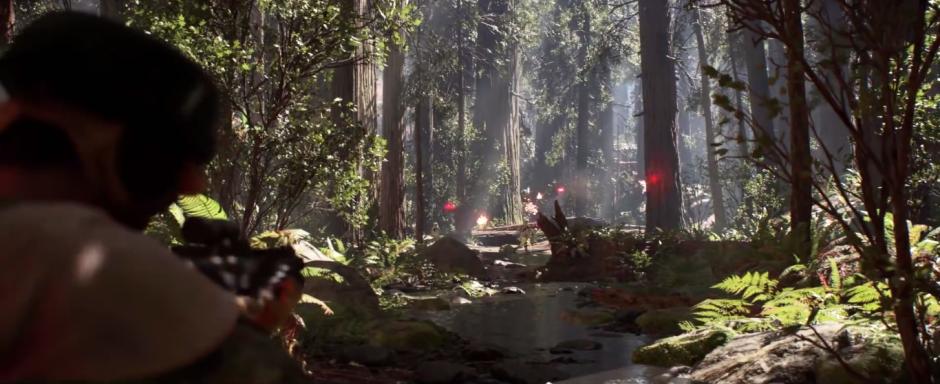 Star Wars Battlefront Trailer Firing At Stormtroopers