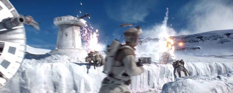 Star Wars Battlefront Trailer Hoth