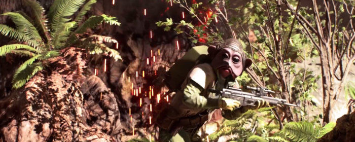 Star Wars Battlefront Trailer Rebel Alien Endor