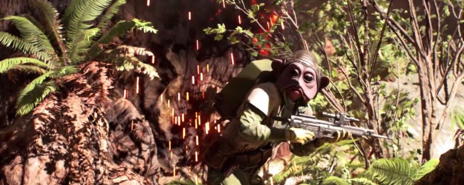 Star Wars Battlefront Trailer Rebel Alien Endor