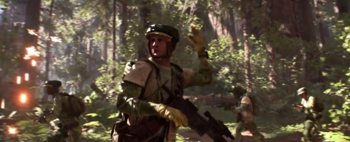 Star Wars Battlefront Trailer Rebel Forces Endor