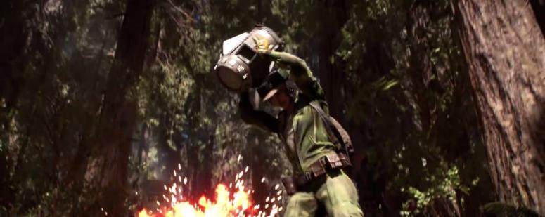 Star Wars Battlefront Trailer Self Defense