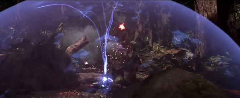 Star Wars Battlefront Trailer Sheild Bubble