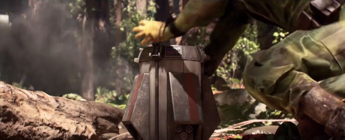 Star Wars Battlefront Trailer Shield Device